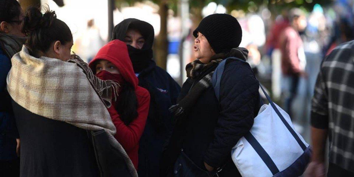 El frío podría sentirse de nuevo este martes en el país