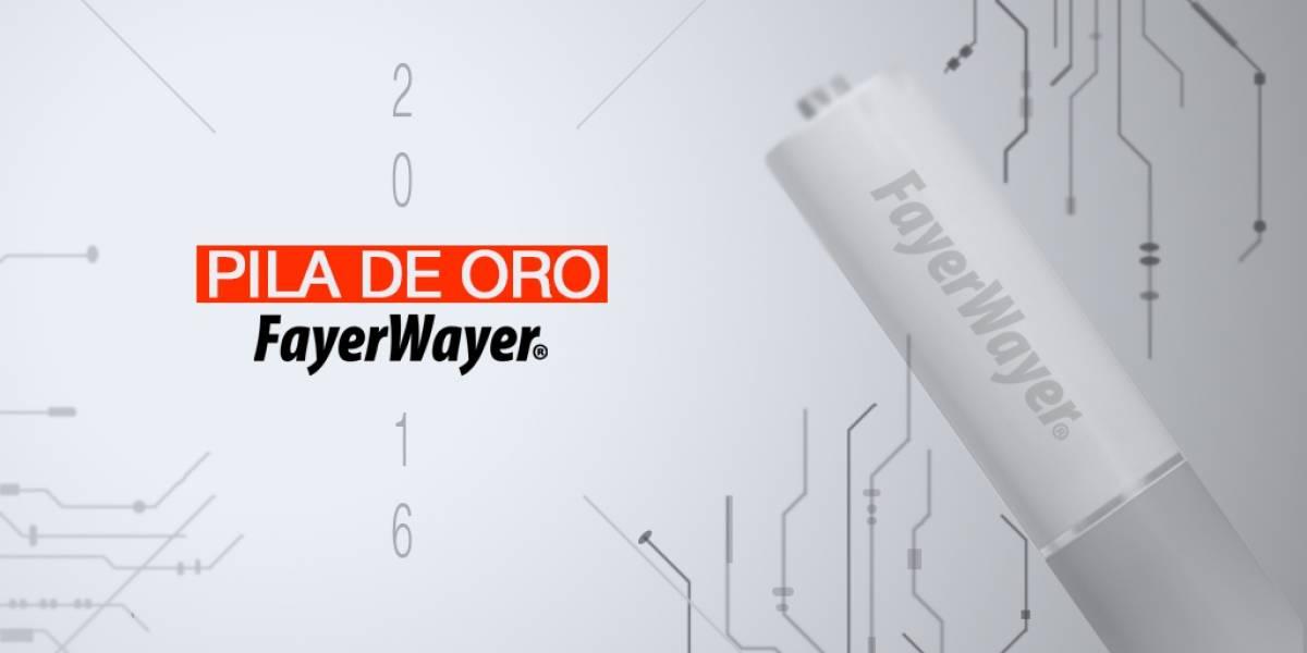 Presentamos los premios FayerWayer: Pila de Oro 2016