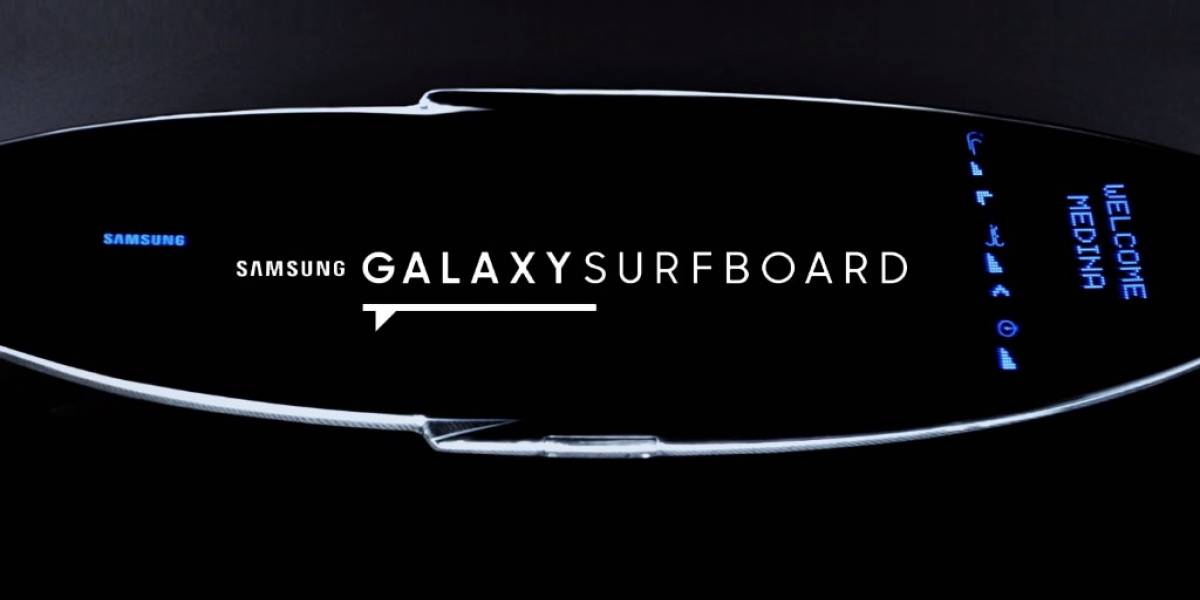 Samsung crea la Galaxy Surfboard, una tabla de surf inteligente