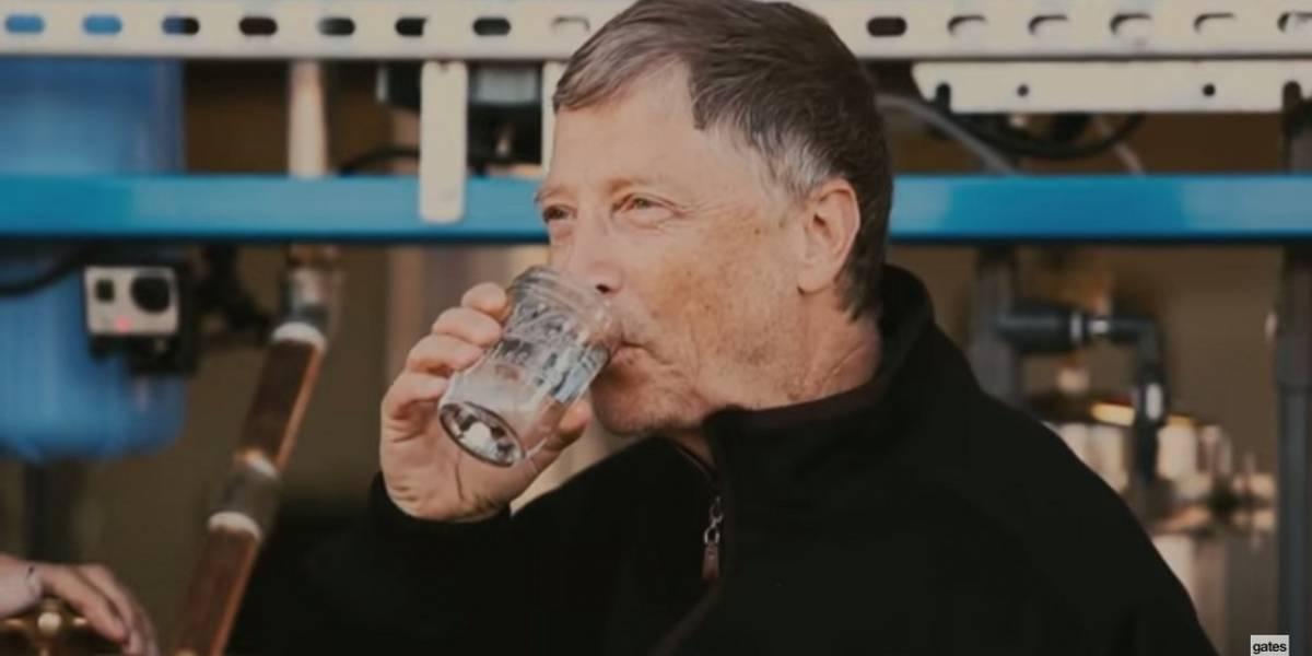 Máquina de Bill Gates que obtiene agua de heces fue probada en África
