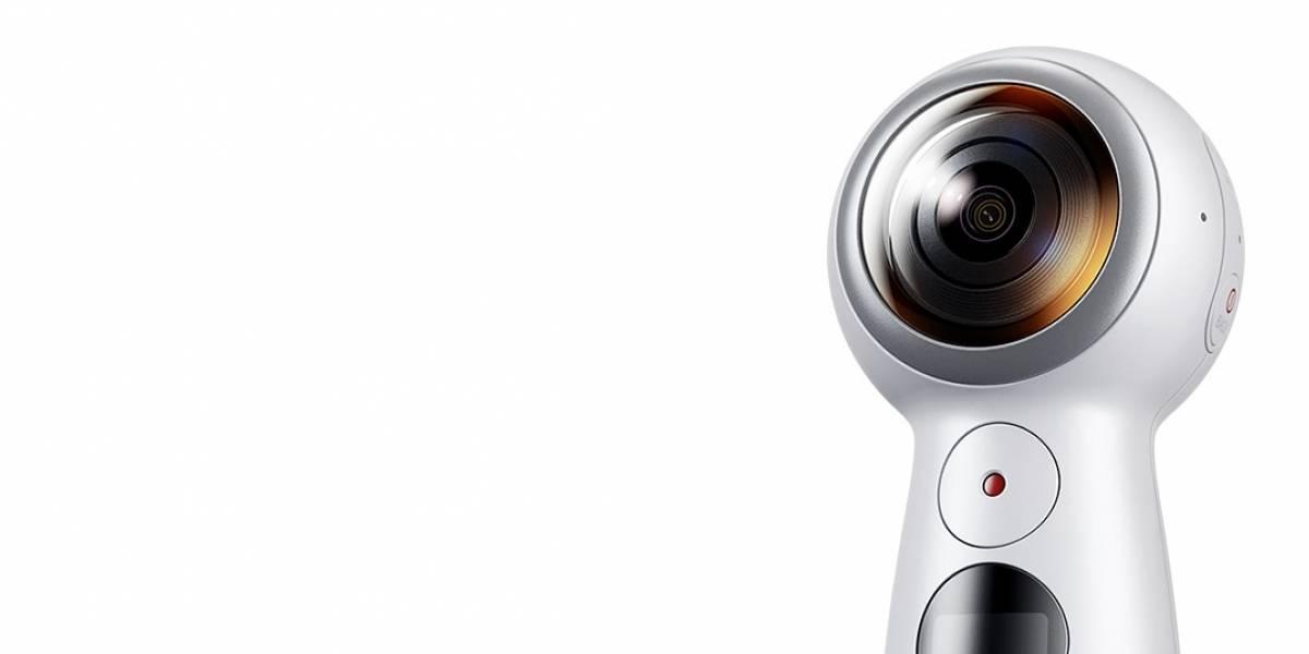 Samsung presenta su nueva cámara Gear 360