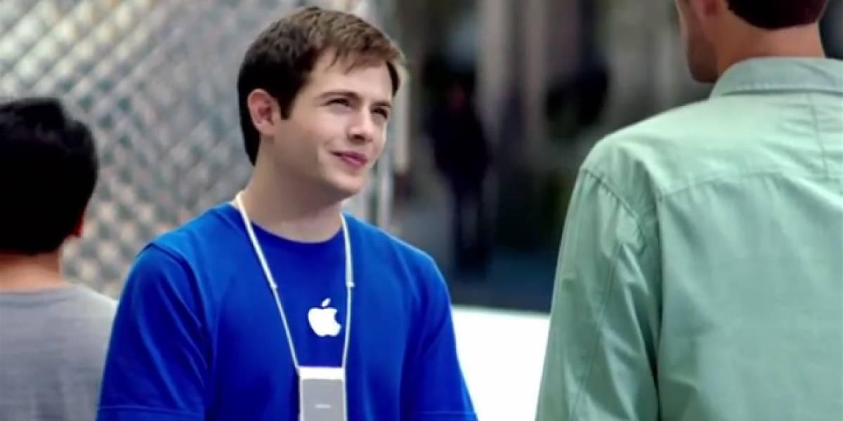 """Apple hace desaparecer los comerciales de sus """"genios"""""""