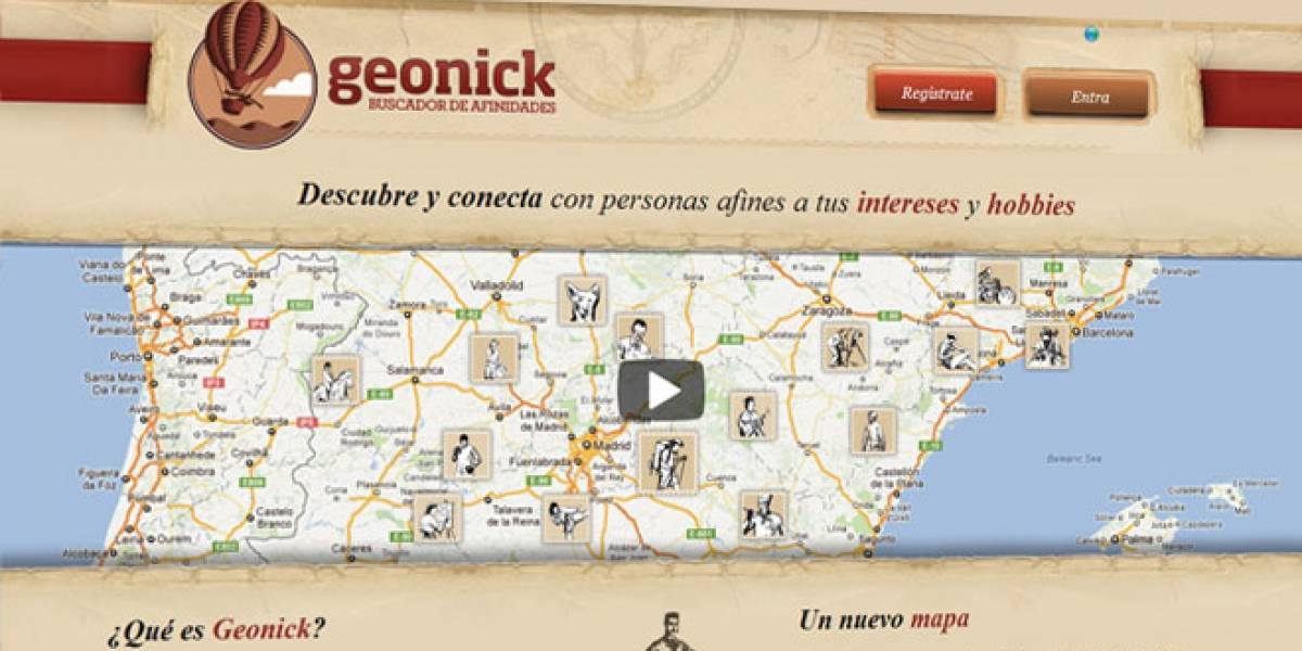 Geonick: Una red social 'made in Spain' basada en hobbies y afinidades