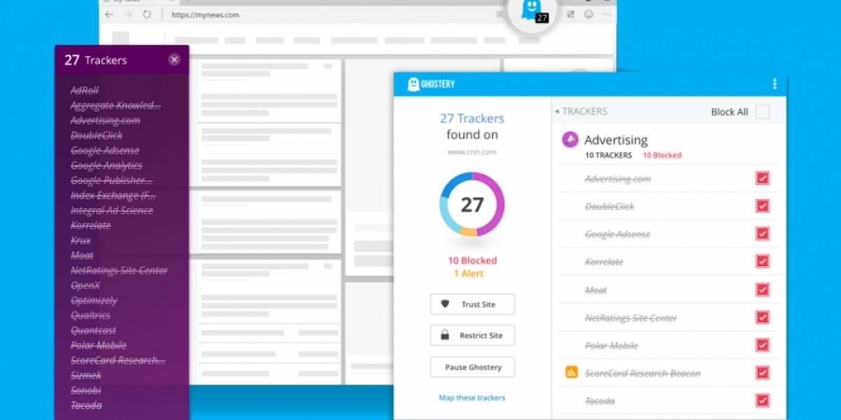 Ghostery promete acelerar la navegación en Microsoft Edge