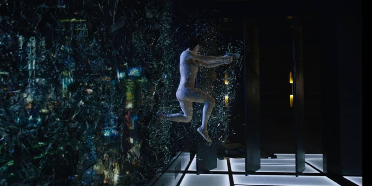 Revisa cómo se construyeron los efectos visuales en Ghost In The Shell