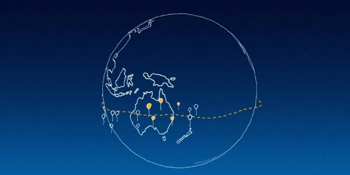 Project Loon: Google quiere dar acceso a internet con globos