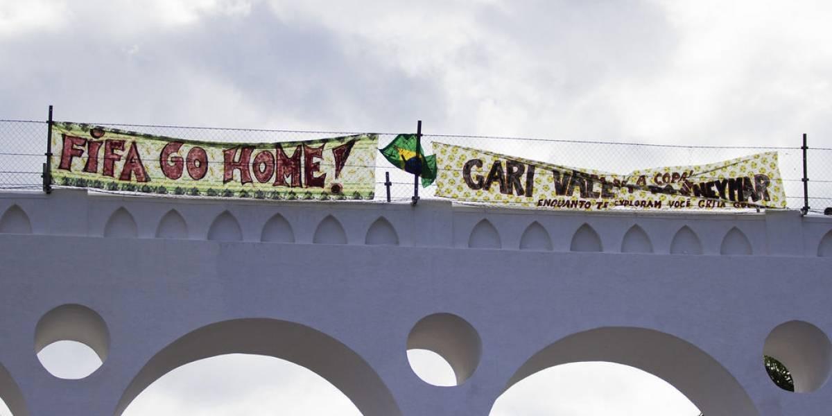 Las protestas de Brasil y la segunda pantalla
