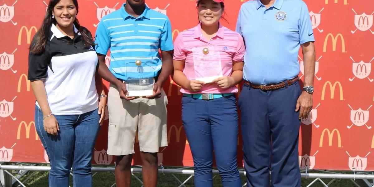 Caimari y Kim ganan cuarta parada del Tour Juvenil de la Fedogolf
