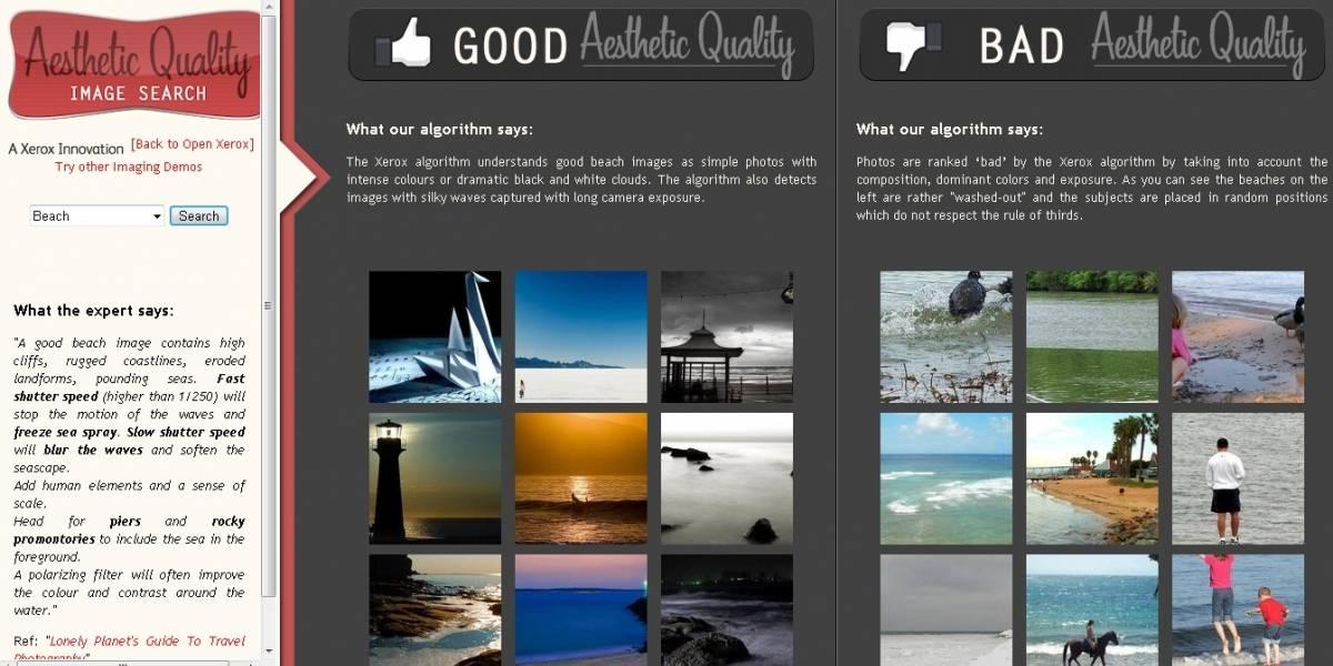 Desarrollan un nuevo algoritmo que evalúa la calidad estética de nuestras fotografías