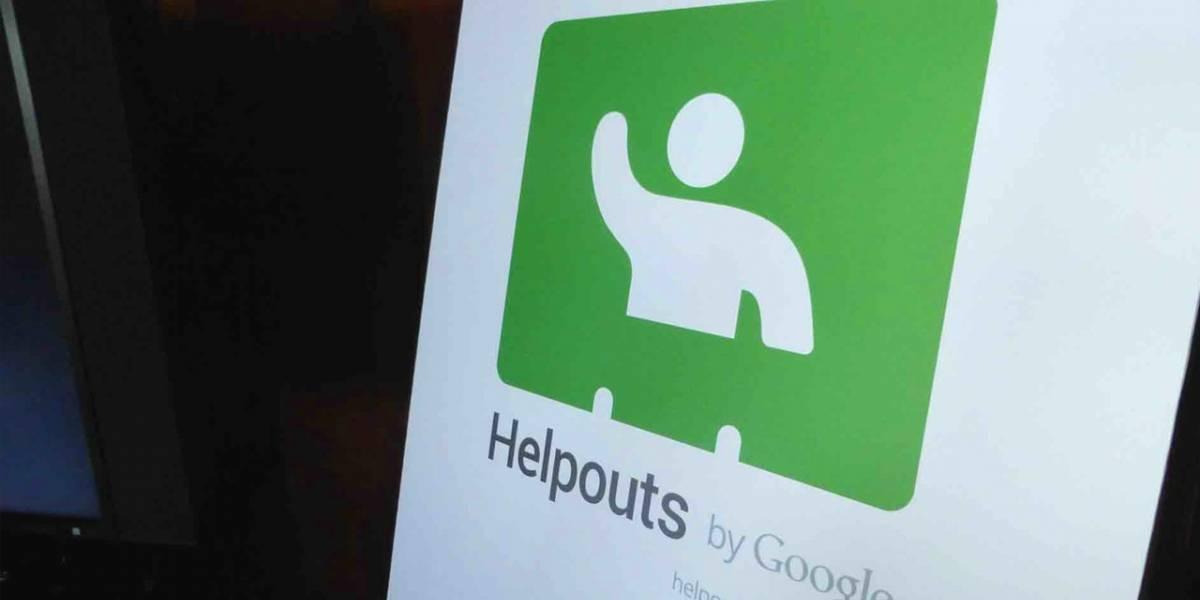 Google anuncia el cierre de Helpouts en abril