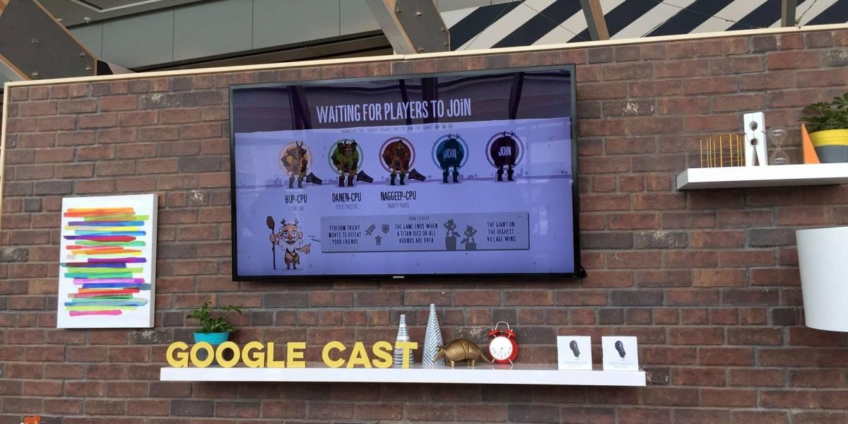 Google apuesta por los videojuegos en el Chromecast #io15