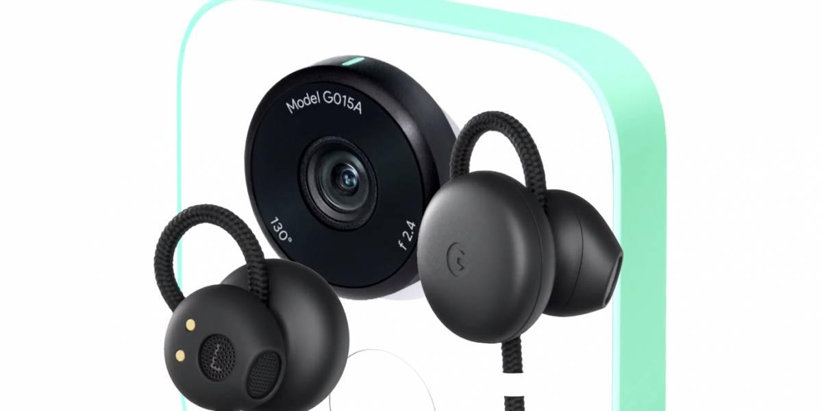 Pixel Buds y Google Clips: Audífonos y cámaras básicas, según Google