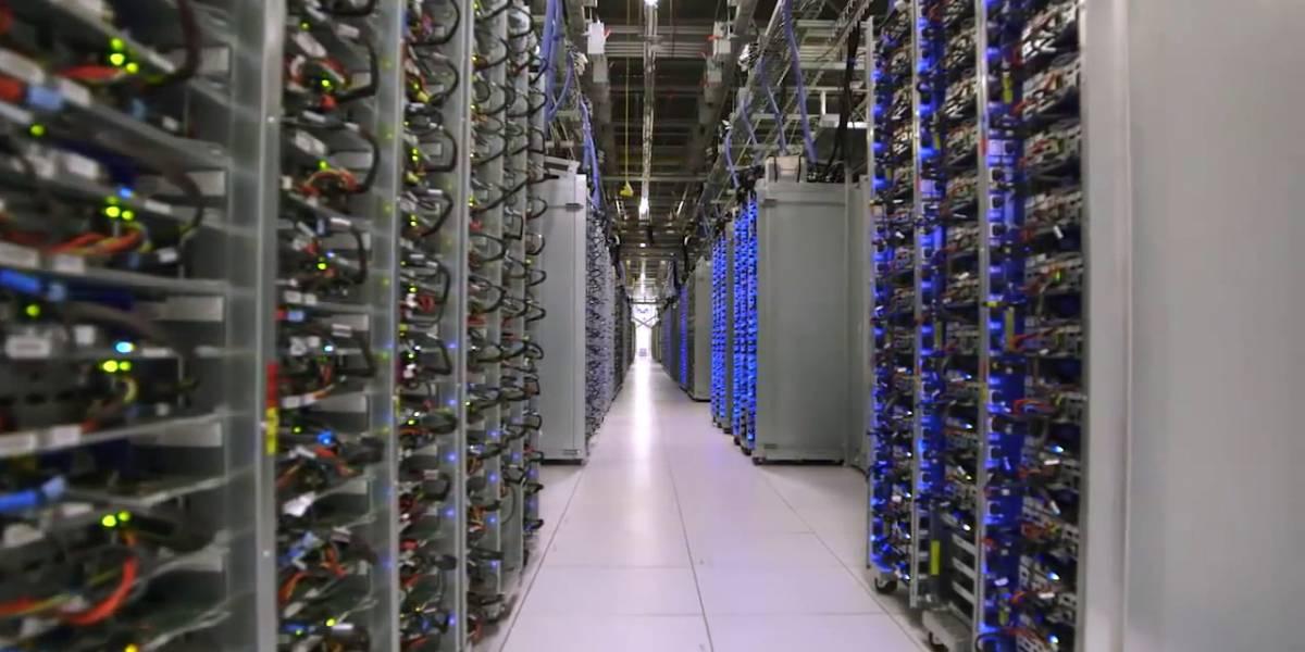 Así es un centro de datos de Google por dentro