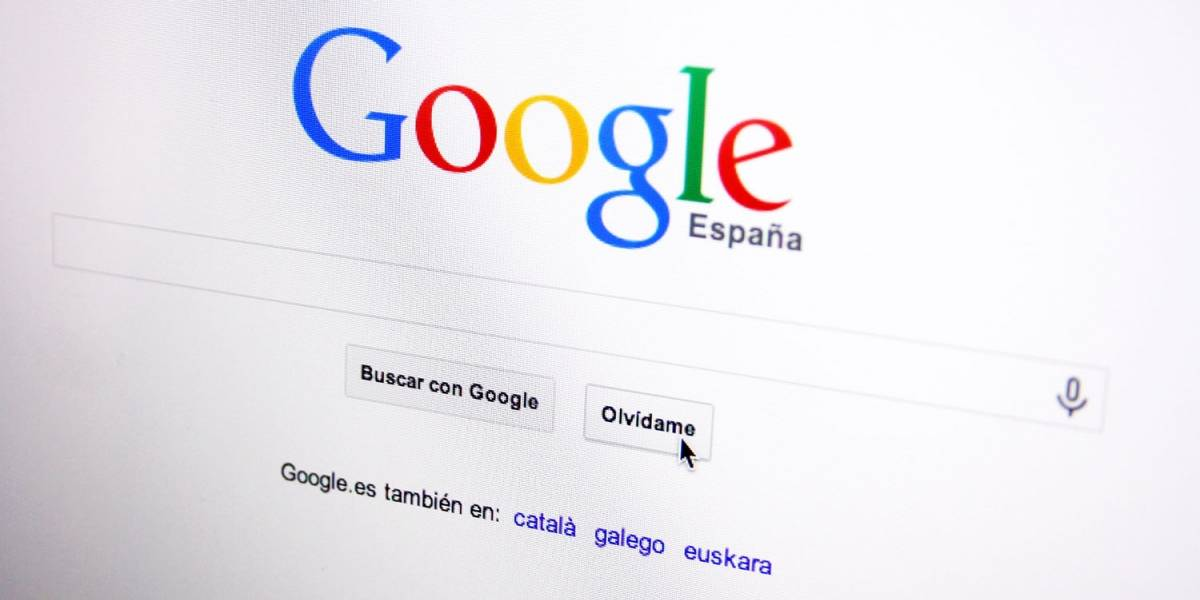 """Google hace fácil """"olvidar"""" en Europa"""
