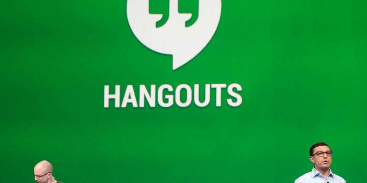 Hangouts se actualiza en Chrome con intuitivo diseño y Material Design