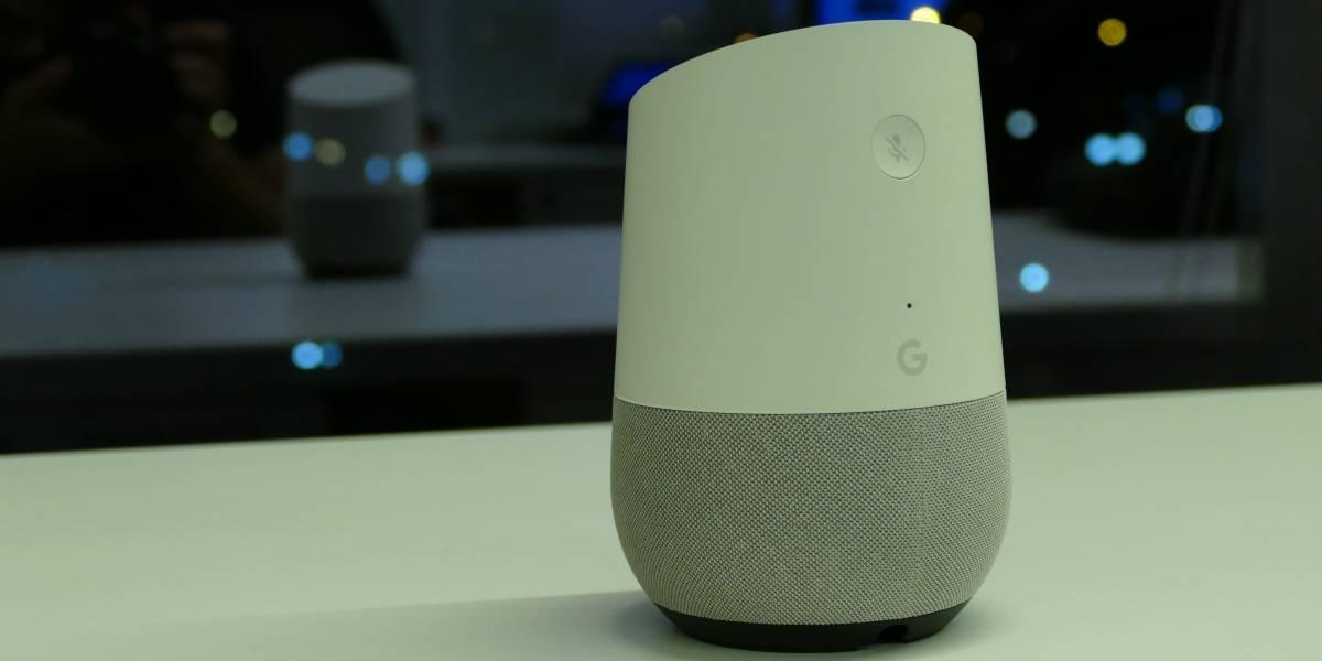 Unidades de Google Home estarían presentando fallas