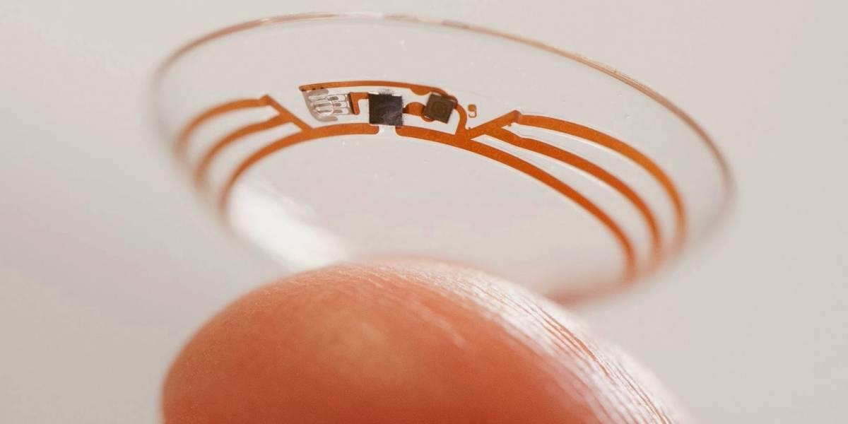Google patenta sistema para implementar una cámara en un lente de contacto