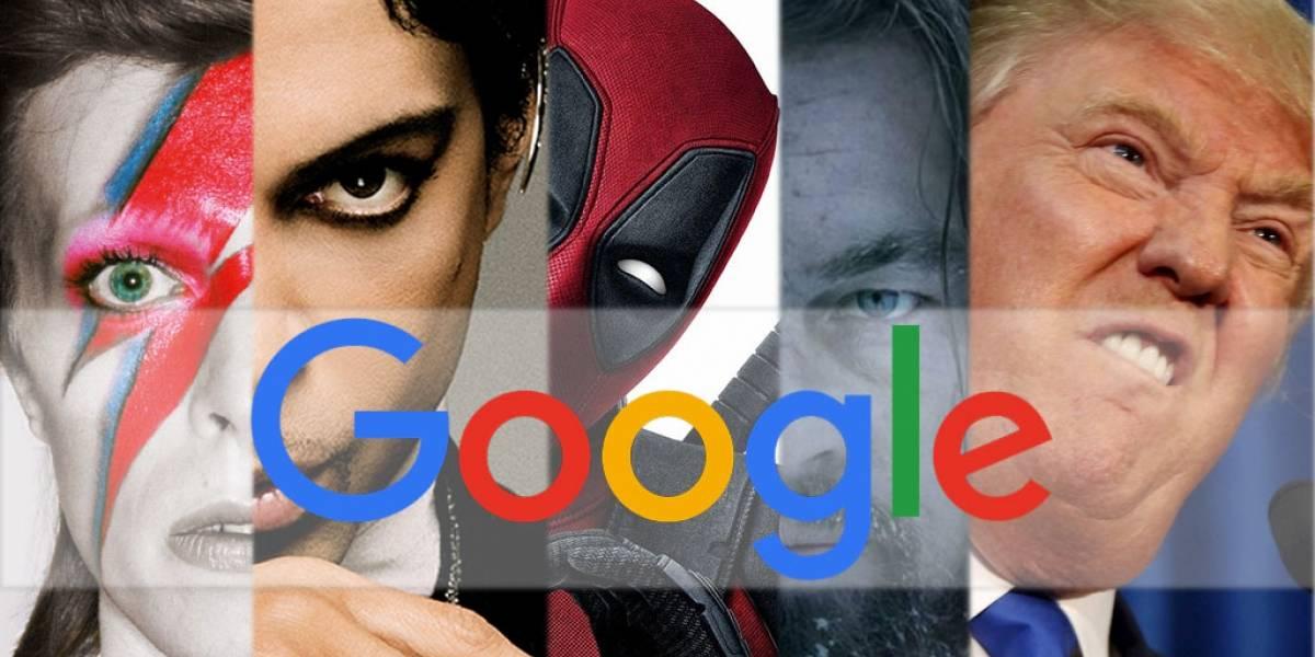 Esto es lo más buscado en Google durante 2016