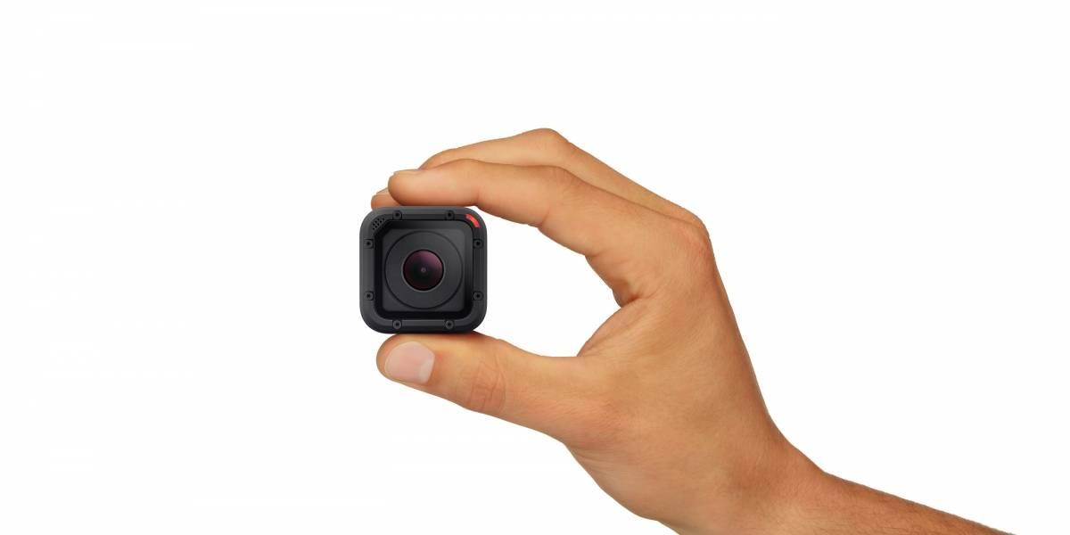 GoPro presenta la Hero4 Session con un diseño ultra compacto