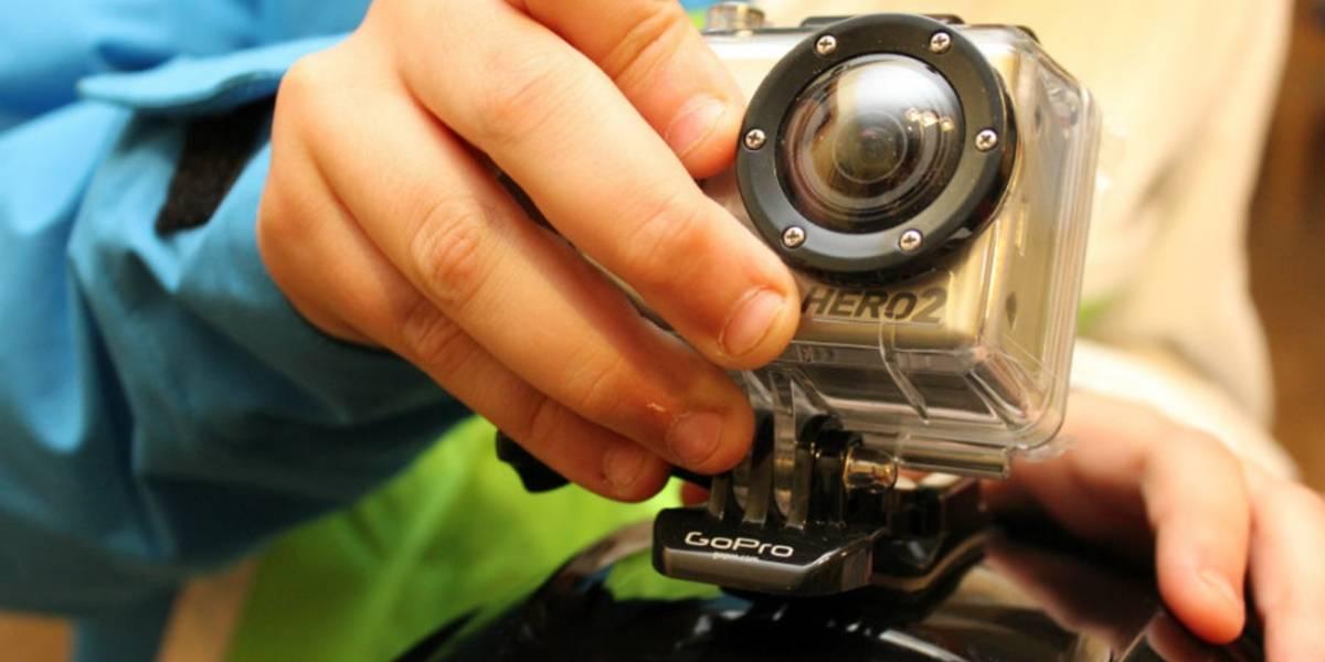 Apple patenta una cámara deportiva y el valor de las acciones de GoPro cae