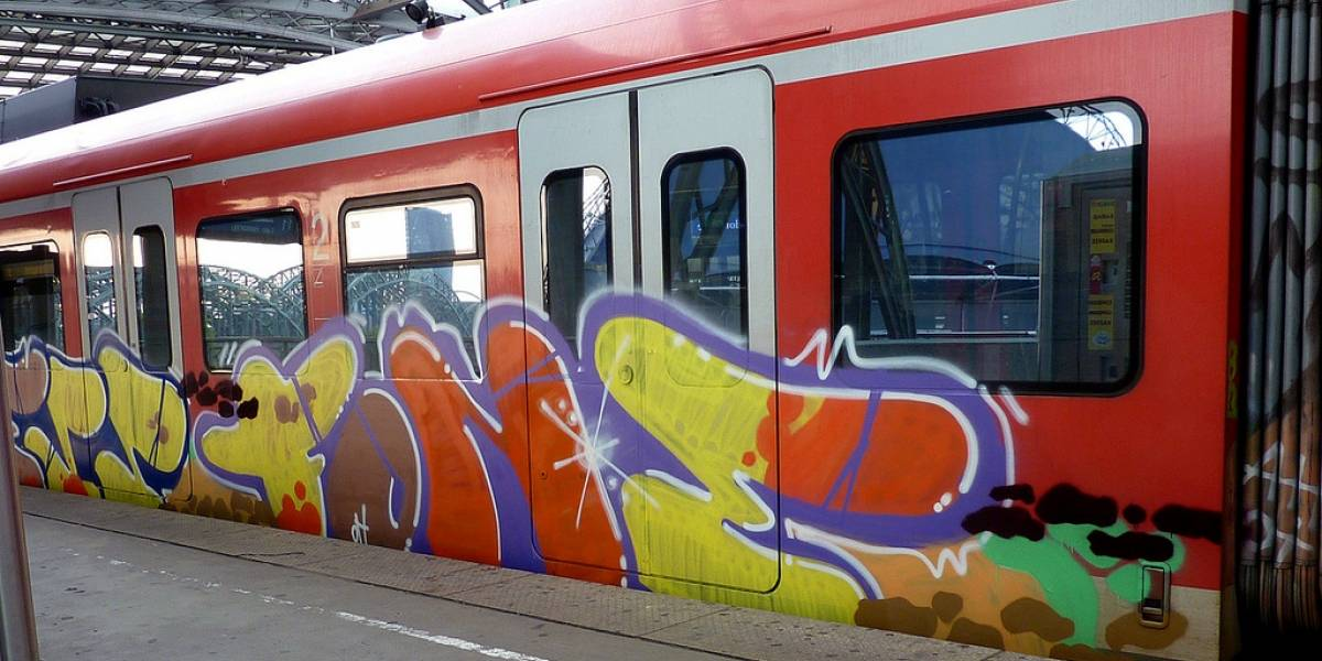 Ferrocarriles alemanes probarán robots anti-grafitis
