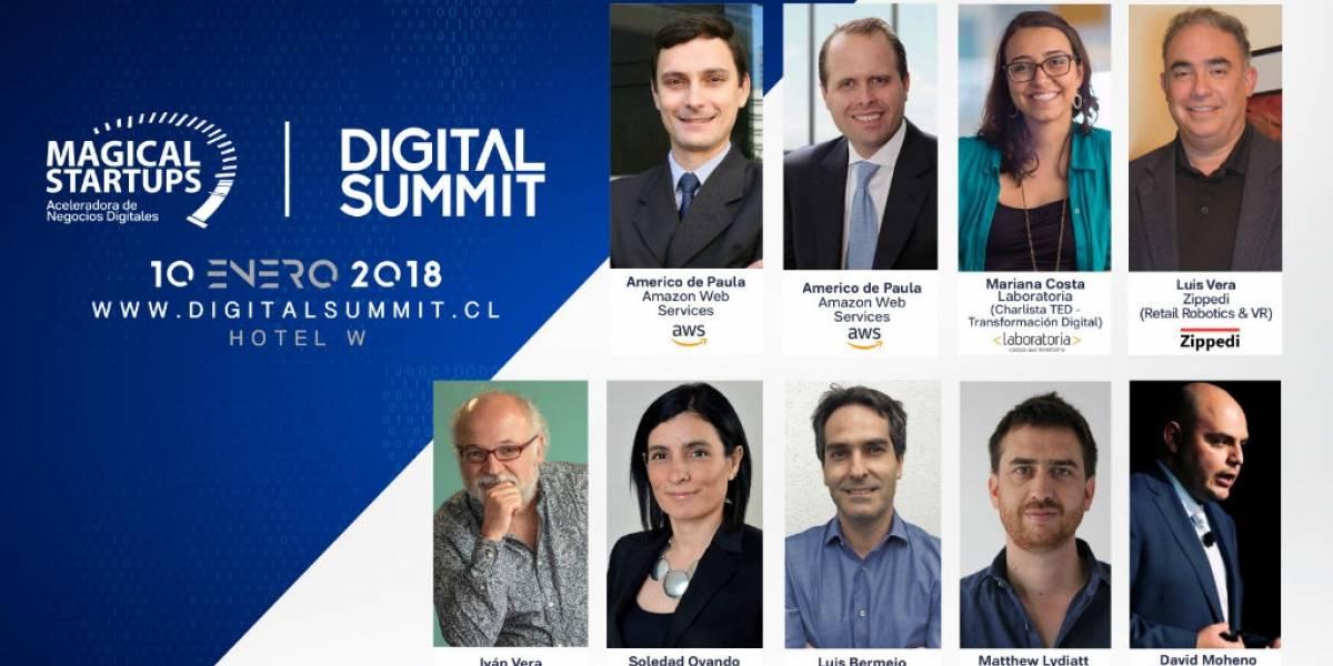 """De Amazon y Laboratoria serán los """"speakers"""" internacionales más destacados de Digital Summit 2018"""
