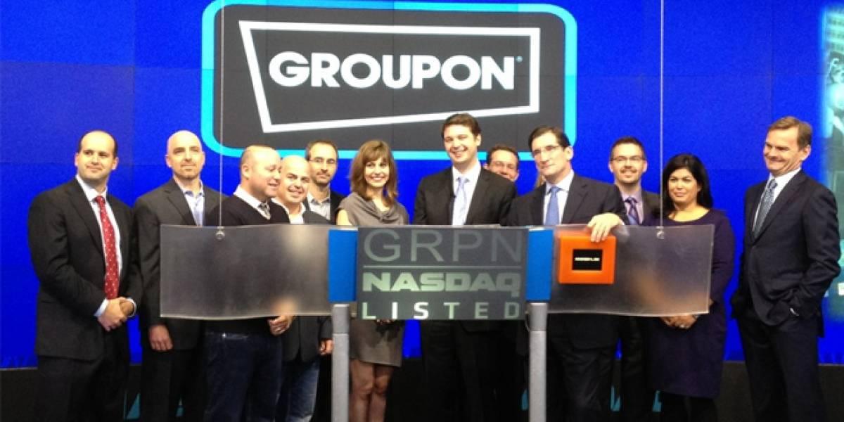 Groupon entra a la bolsa estadounidense y ahora vale US$17.800 millones