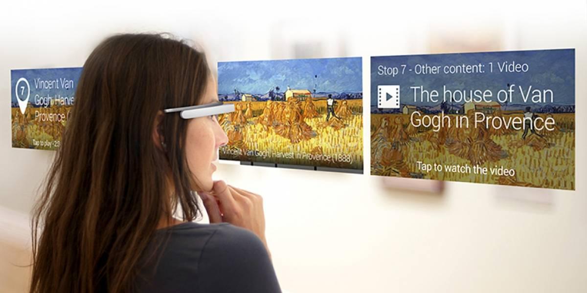 Google Glass podrá usarse como alternativa a las visitas guiadas en museos