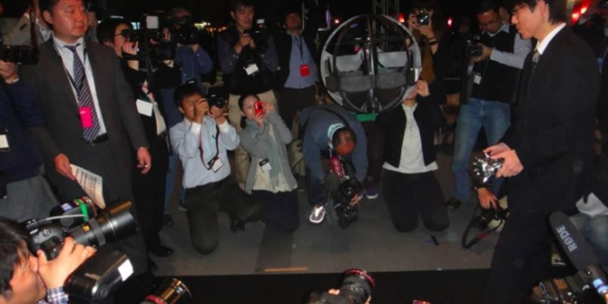 El drone esférico japonés