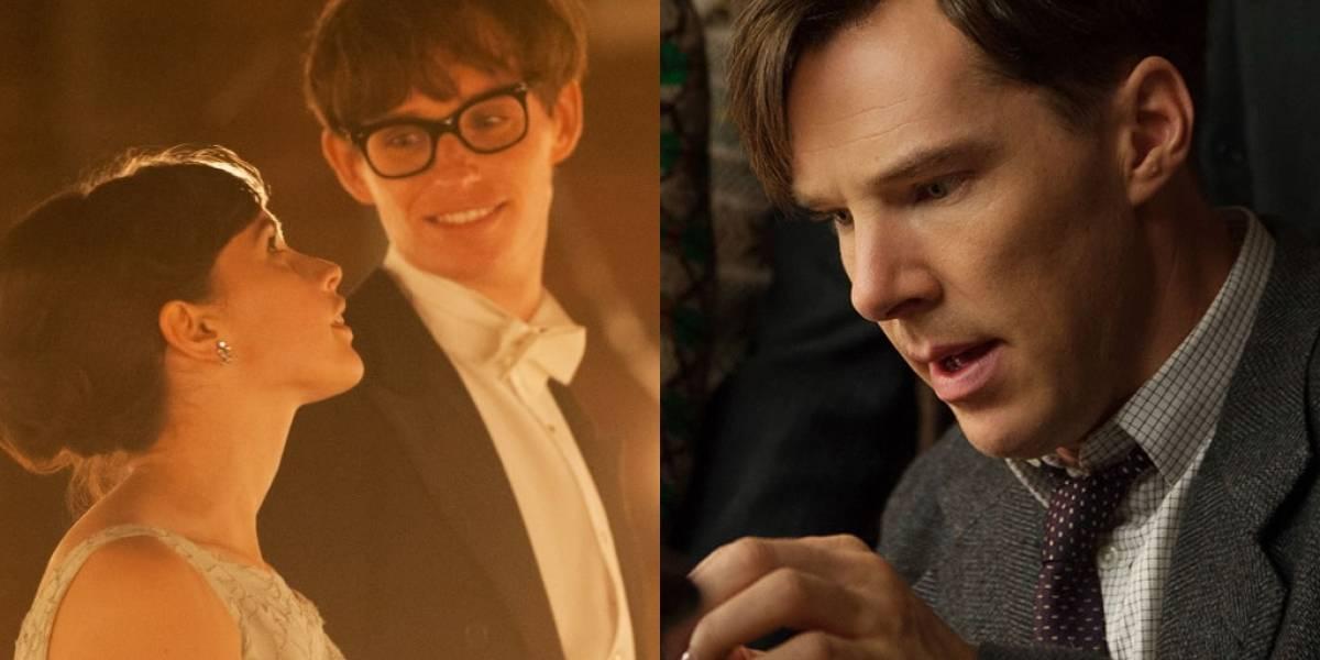 Stephen Hawking y Alan Turing van por su Oscar