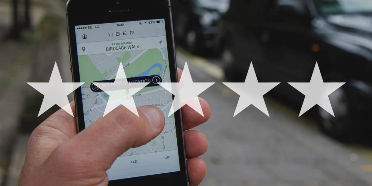 Cómo saber qué opinan los choferes de Uber sobre ti