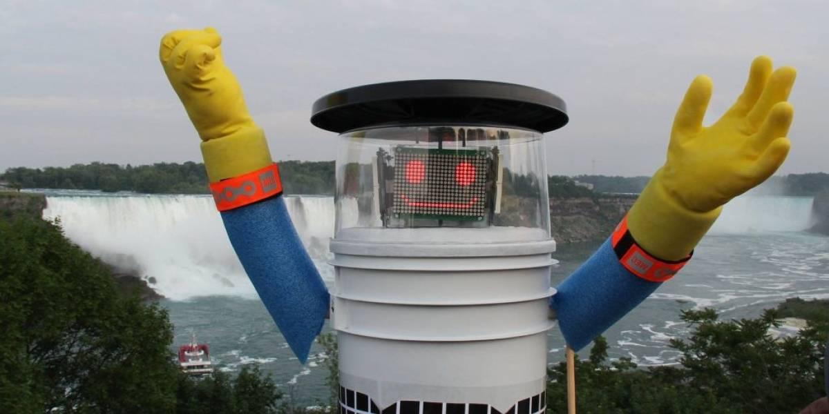 El robot que pide aventones comenzó su viaje por Estados Unidos