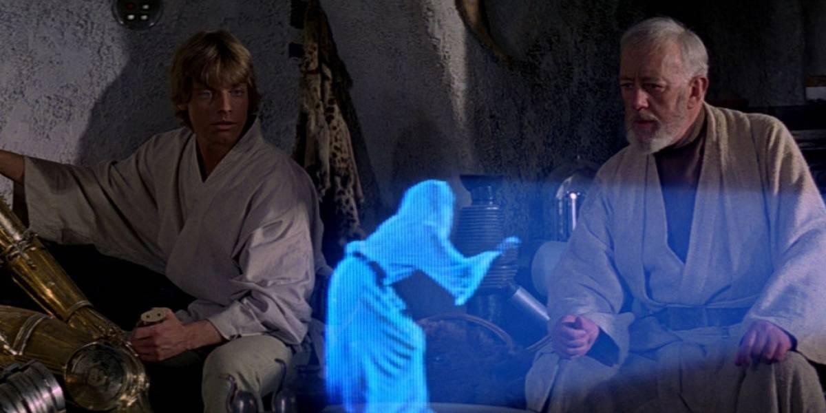 Científicos crean proyector de hologramas inspirado en Star Wars