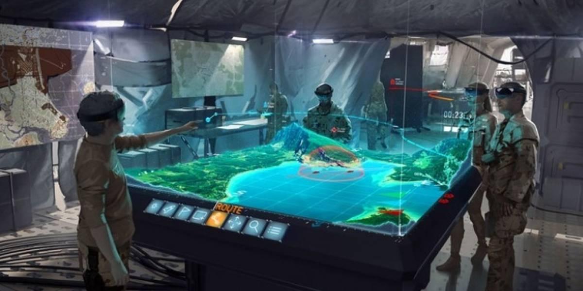 Fuerza Aérea Australiana experimenta con los HoloLens de Microsoft