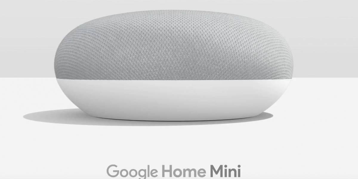 Bug en Google Home Mini graba todo lo que dices y lo envía a la nube