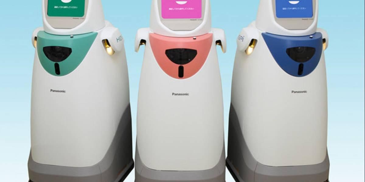 Panasonic vuelve a vender su robot para hospitales