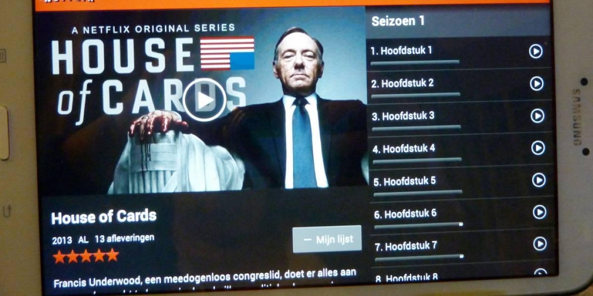 Netflix comienza a transmitir House of Cards en 4K