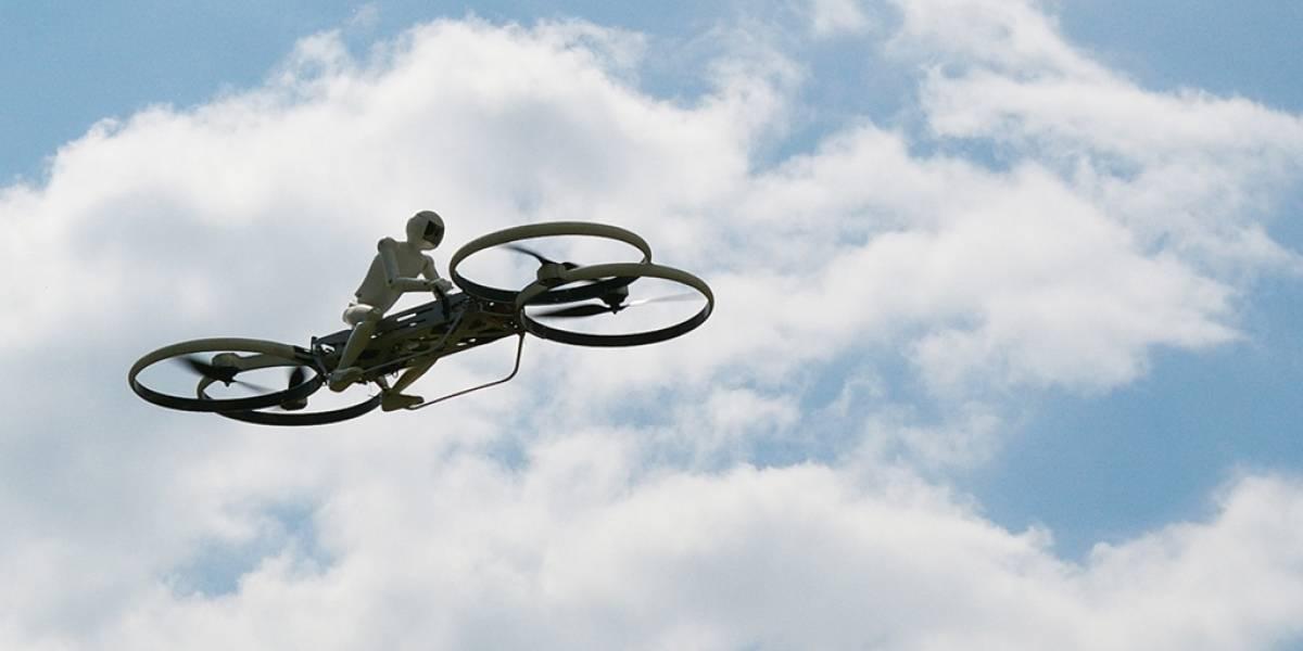 Ejército de Estados Unidos adopta al proyecto de la moto voladora Hoverbike