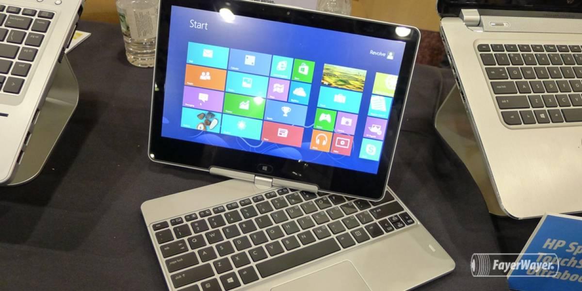 HP retira más de 100 mil baterías de laptop del mercado por peligro de incendio