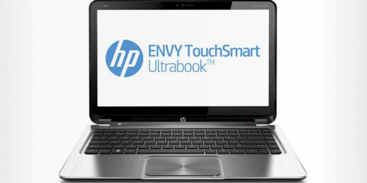 HP lanzará el Envy 14 TouchSmart, un laptop con una pantalla de resolución 3200x1800