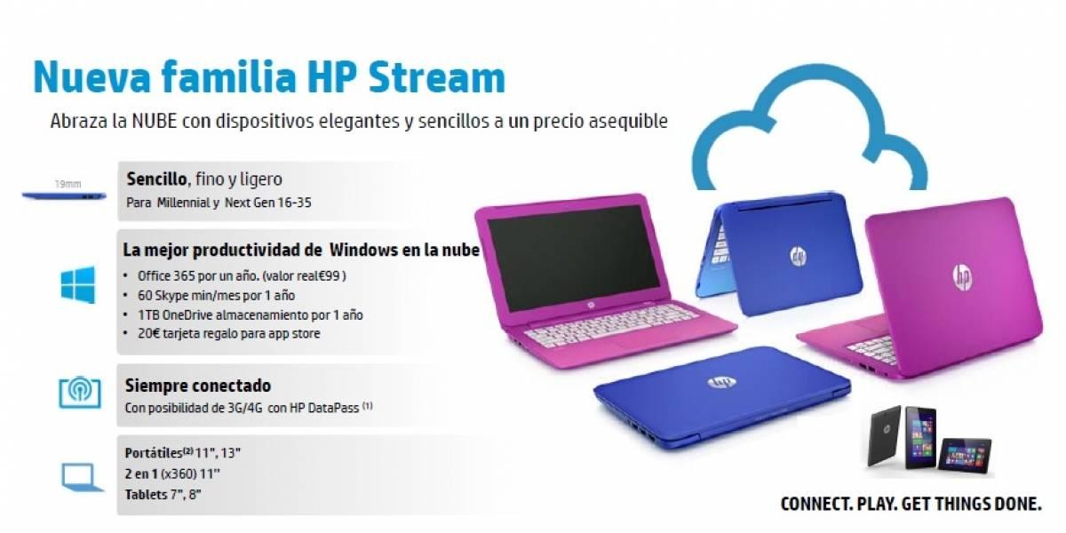 Conoce Stream, la nueva gama de HP