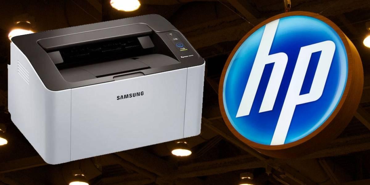 HP compra la división de impresoras de Samsung por cifra millonaria