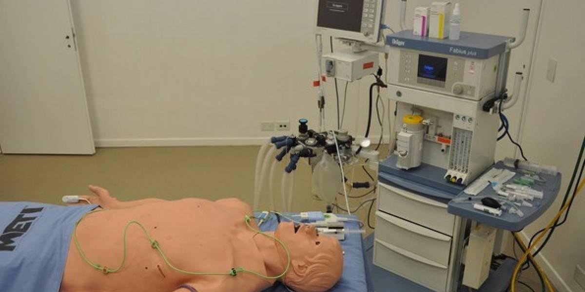 Argentina: Robot simulador de paciente humano para formar a futuros anestesiólogos