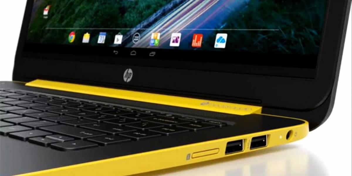HP ya tendría otro notebook con Android