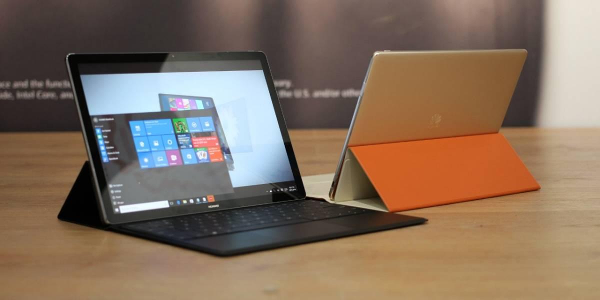 Huawei lanzaría dos portátiles MateBook en 2017