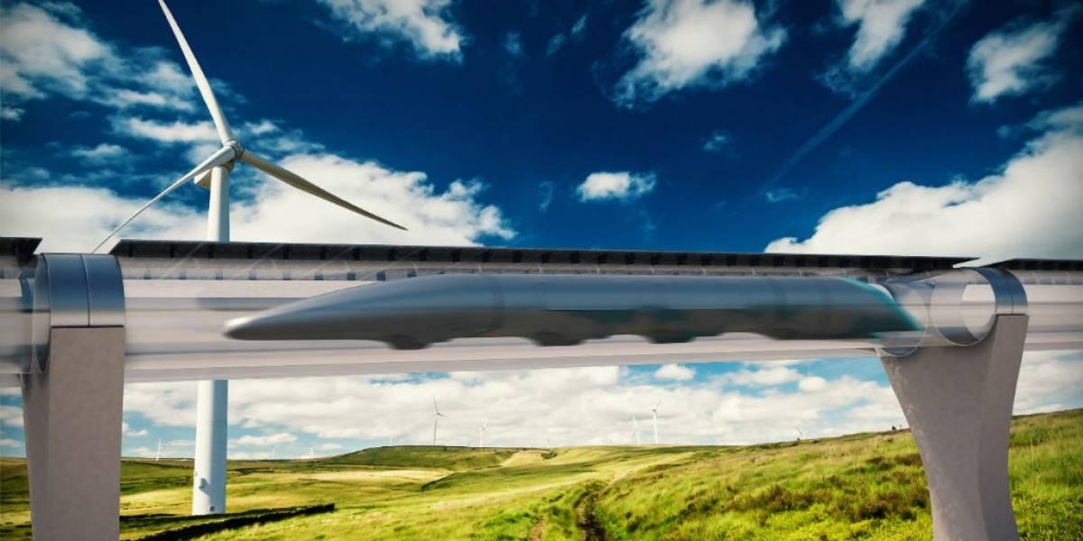 Hyperloop consigue mucho dinero mientras prepara prueba a gran escala