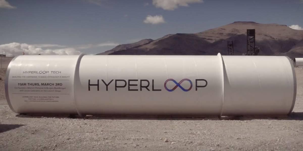 Hyperloop prueba su impresionante sistema de propulsión en el desierto