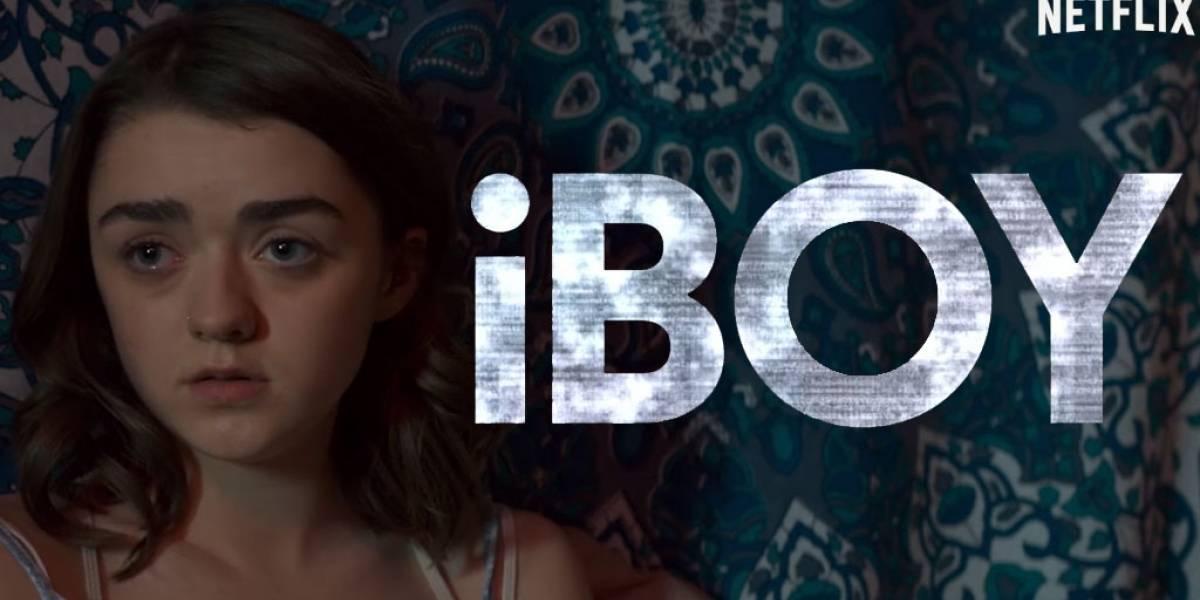Un héroe millennial en iBoy, la película exclusiva de Netflix con Maisie Williams