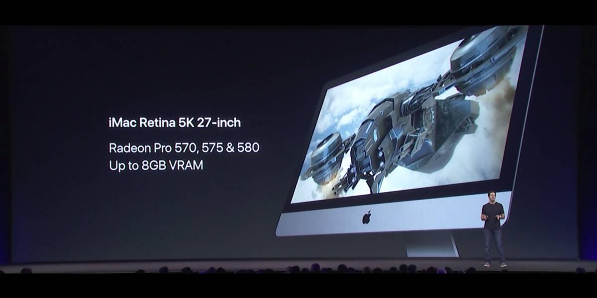Apple rectifica y lanza nuevas iMac con potente hardware #WWDC17