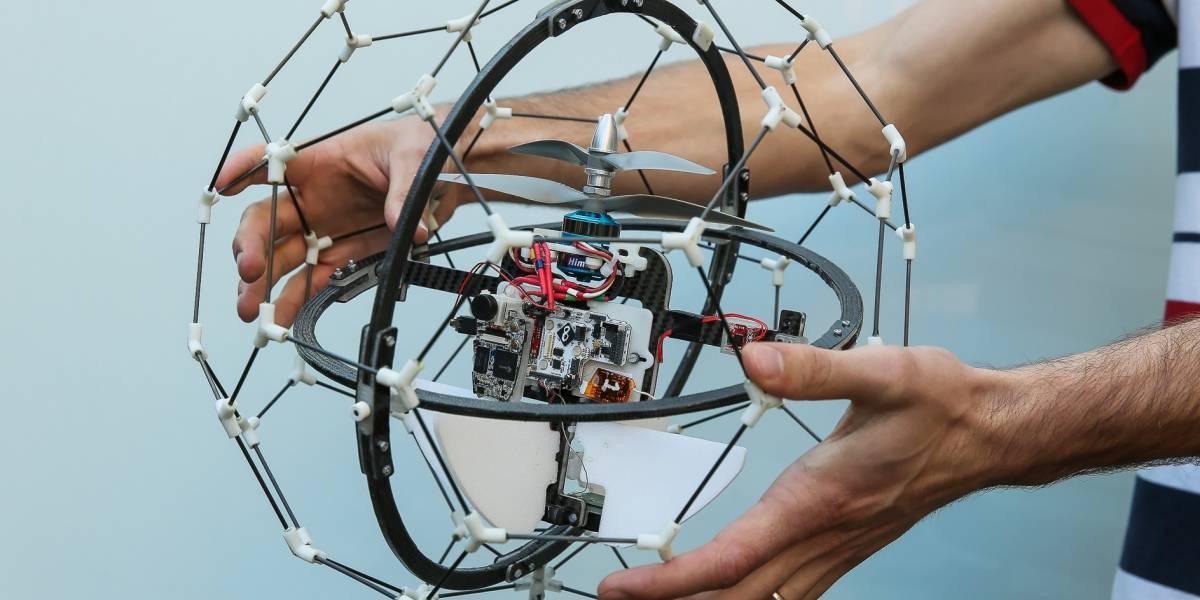 Dron súper resistente es premiado con USD $1 millón